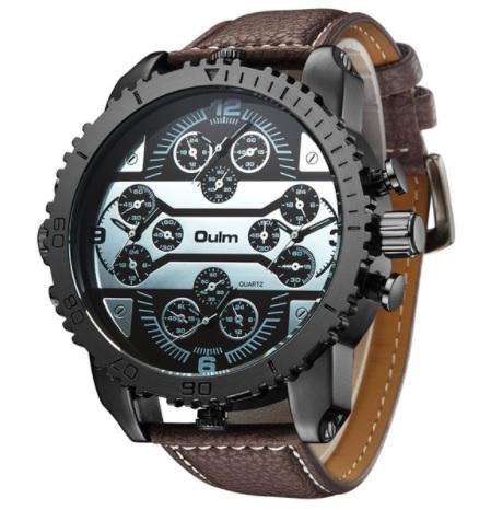 Pánske military hodinky Oulm b4e05ecce96