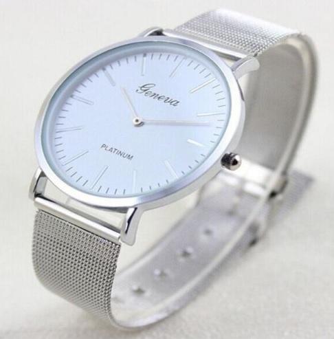 Dámske hodinky Platinum strieborné cc55db2db09