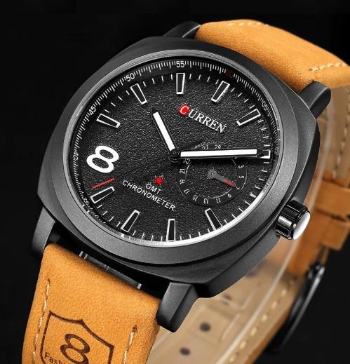Pánske hodinky C8139 čierne af898fa4ed9