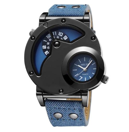 Pánske hodinky M8305 s 2 ciferníkmi 42d5601a77d