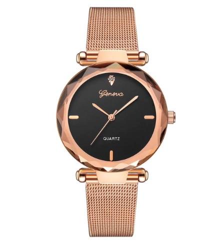 Dámske hodinky Diamond GZC ružové zlato b79c40cc0bc