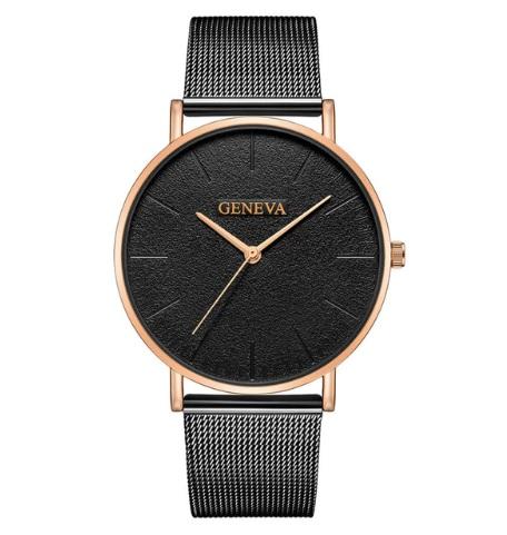 Dámske hodinky Geneva GCZ čierne ceceda52042