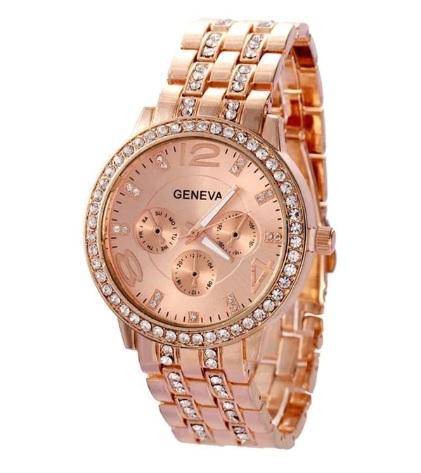 0273d865eca DÁMSKE hodinky | Hodinky s kamienkami ružové zlato | MiniStore.sk ...