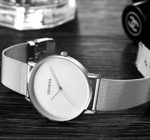 461df21af66 DÁMSKE hodinky | Dámske hodinky Geneva GSB strieborné | MiniStore.sk ...