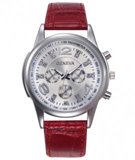 a29fb26fa3 Dámske hodinky Geneva Crystal červené